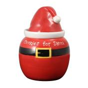 Pfaltzgraff Treats for Santa Hat Cookie Jar
