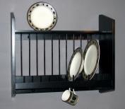 Plate Rack with Shelf