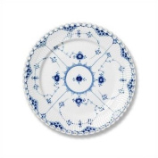 """Royal Copenhagen Blue Fluted Full Lace 6.75\"""" Bread and Butter Plate"""