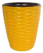 Enrico 3140MH2080 Honeycomb Mango Utensil Vase, Sunflower
