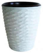 Enrico 3140MH6080 Honeycomb Mango Utensil Vase, White