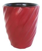 Enrico 3140MS1080 Mango Utensil Vase, Spiral Chilli Pepper