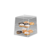 Cal-Mil 280 Slant Front Rear Door Display Case with 2 Trays
