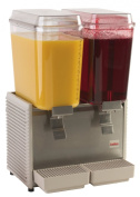 Grindmaster-Cecilware D25-3 Crathco Classic Bubblers Premix Cold Beverage Dispensers, 18.9l, Stainless Steel Finish