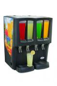 Grindmaster-Cecilware C-4D-16 Mini-Quattro Carthco G-Cool Innovative Premix Cold Beverage Dispenser, Black