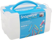 Snapware Snap 'N Stack 18cm by 25cm Storage Container, Rectangle