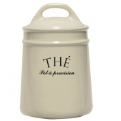 The French Style Old World Tea Canister