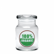 420 Science Pop Top Stash Jar - 100% Organic