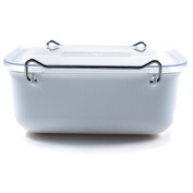 ClickClack Everyday Storage Container, 0.9l, White
