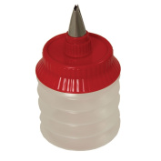 Kuhn Rikon Wide Squeeze Bottle with No.6 Weave Tip, Red