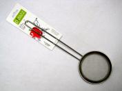 p!zazz 401-0043 Stainless Steel Mesh Skimmer, 13cm , Silver
