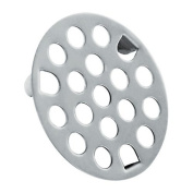 Chrome 3 Prong Drain Strainer Size