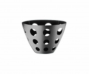 Mepra Uno Ice Round Fretworked Basket, Small
