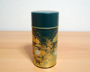 Shukanoen Japanese Green Tea Metal Tin [ Green ]