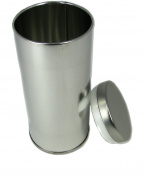 1pc. Tall Round Tea Tin with Lid