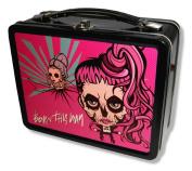"""Lady Gaga """"Cartoon"""" 2013 Cancelled Tour Tin Lunch Box"""