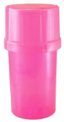 MedTainer Storage Container w/ Built-In Grinder - Pink