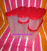 Kitchenware Modular Mate Super Oval Set, Passion Red Seals