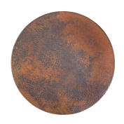 Large Handmade Copper Lazy Susan 80cm , Tempered Finish