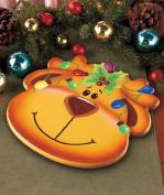 Reindeer Holiday Lazy Susan