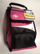 Arctic Zone Insulated Lunch Pack, Microban Technology, Pink