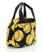 Softball Print Insulated Lunch Bag