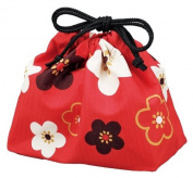 HAKOYA drawstring bag Zhu Hua pattern plum 53,747