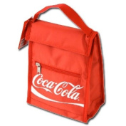 Red Insulated Coca-Cola Script Lunch Bag