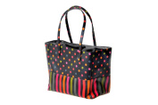 Polka & Stripe Lunch Tote by Danielle Creations
