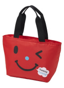 Torune Insulated Lunch Cooler Bag Smile, Red