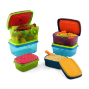 Kids Value Lunch Container Set with Removable Ice Packs- 14 Piece