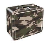 Aquarius Camouflage Embossed Tin Lunch Box