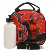 Spider-man 3 Lunch Bag with Water Bottle