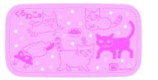cat lunch box pink coming