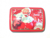 Coca Cola Santa / Christmas Treasure Chest Tin