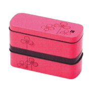Cool slim lunch box pink clover 72139-8