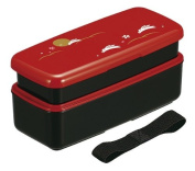 Full moon rabbit length angle two-stage lunch box with a belt 640 206
