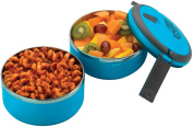 Grunwerg Pioneer Out For Lunch Lunch Double Decker Snack Box Set Blue DRLB-567B