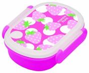 Komori resin lunch box strawberry