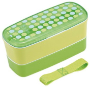 Le Boadotto chopsticks with two-stage lunch box with belt mint 654 654