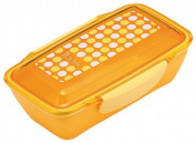 LE BOIS dot dome lunch box yellow 658 676