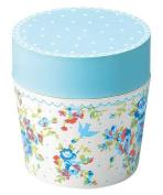 Masakazu [lunch box] isso ecco cafe lunch round Bonheur Blue