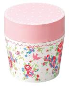 Masakazu [lunch box] isso ecco cafe lunch round Bonheur Pink