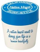 Masakazu [lunch box] Native Heart cafe lunch round blue x white