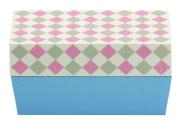 Masakazu sum pattern cafe lunch angle chequered pink