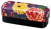 Slim compact lunch box fan Rose 51652 and Ha HAKOYA cloth