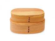 Wamoyou wooden Wappa lunch two-stage natural [lunch box of natural materials Masakazu]