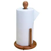 Natural Living Bamboo Paper Towel Holder