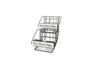 Grindmaster-Cecilware 70665 Air Pot Rack Pot Riser, Black