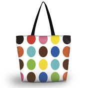 Colourful Designs Reusable Shoppers Tote Shopping Bag case Reusable Market Grocery Bag Eco Friendly